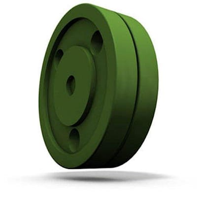 Green (Green Biscuit Stick Handling Training Puck - 5oz)