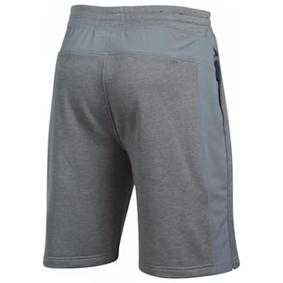Back View (Under Armour Tech Terry Short - True Grey - Mens)