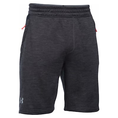 Front View (Under Armour Tech Terry Short - Carbon Heather - Mens)