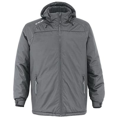 Heather Grey (CCM Adult Winter Jacket - Adult)