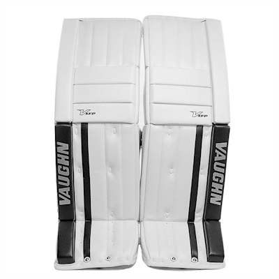 White/Black (Vaughn XFP Pro Goalie Leg Pads - Senior)