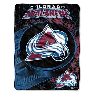 "Avalanche (Northwest Company NHL Micro Raschel Throw Blanket - 46"" x 60"")"