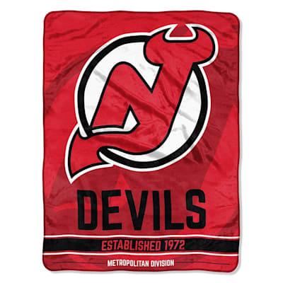 "Devils (Northwest Company NHL Micro Raschel Throw Blanket - 46"" x 60"")"