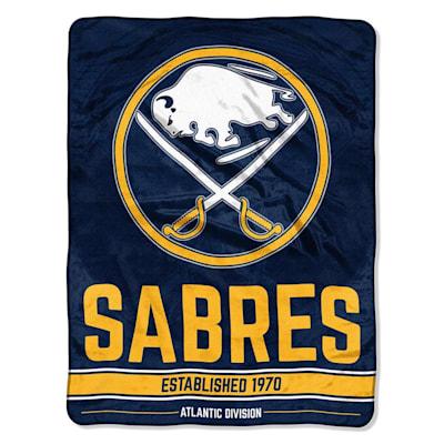 "Sabres (Northwest Company NHL Micro Raschel Throw Blanket - 46"" x 60"")"