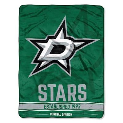 "Stars (Northwest Company NHL Micro Raschel Throw Blanket - 46"" x 60"")"