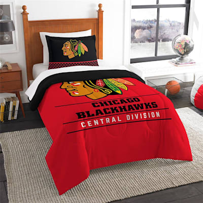 "Blackhawks (Northwest Company NHL ""Draft"" Twin Comforter & Sham)"