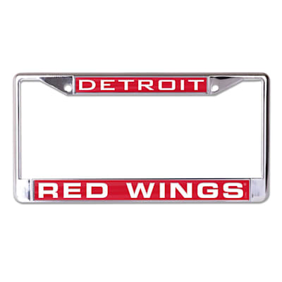 (Wincraft NHL Inlaid Metal License Plate Frame - Detroit Red Wings)
