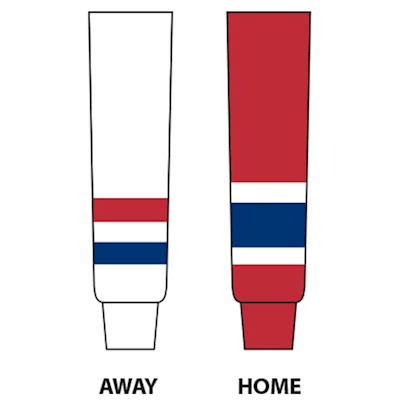(NHL Team Hockey Socks - Montreal Canadiens - Senior)