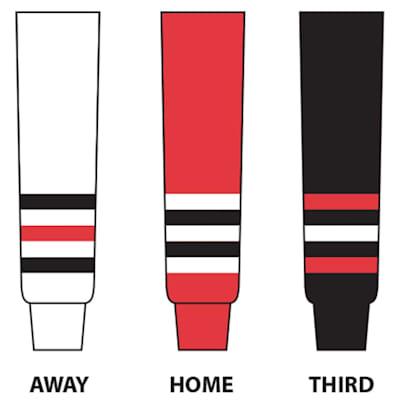 (NHL Team Hockey Socks - Chicago Blackhawks - Senior)