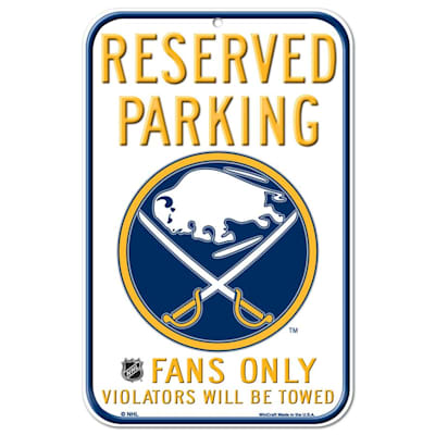 (Wincraft NHL Reserved Parking Sign - Buffalo Sabres)
