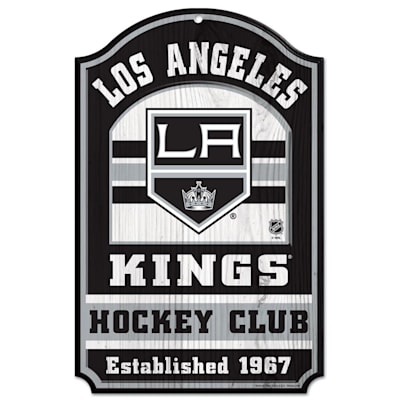 "(Wincraft NHL Wood Sign - 11"" x 17"" - Los Angeles Kings)"