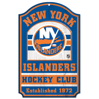 "(Wincraft NHL Wood Sign - 11"" x 17"" - New York Islanders)"