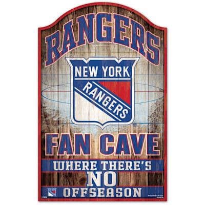 "(Wincraft NHL Wood Sign - 11"" x 17"" - New York Rangers)"
