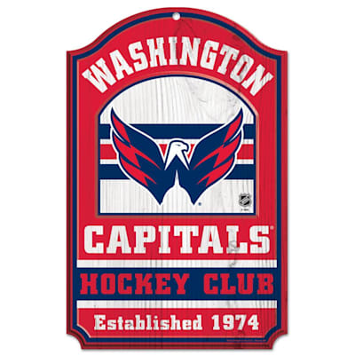 "(Wincraft NHL Wood Sign - 11""  x 17""  - Washington Capitals)"