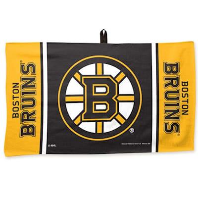 """(Wincraft NHL Golf Waffle Towel - 14"""" x 24"""" - Boston Bruins)"""