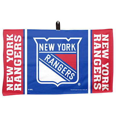 "(Wincraft NHL Golf Waffle Towel - 14"" x 24"" - New York Rangers)"