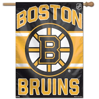 "(Wincraft NHL Vertical Flag - 27"" x 37"" - Boston Bruins)"