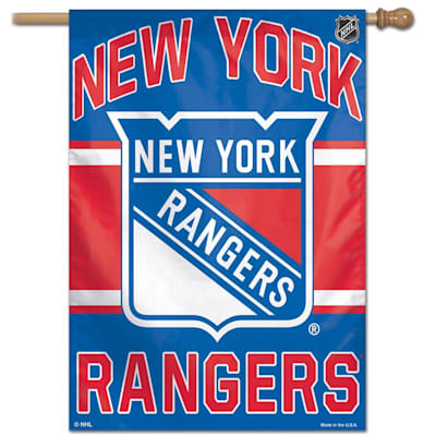 "(Wincraft NHL Vertical Flag - 27"" x 37"" - New York Rangers)"