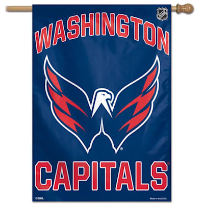 "(Wincraft NHL Vertical Flag - 27"" x 37"" - Washington Capitals)"