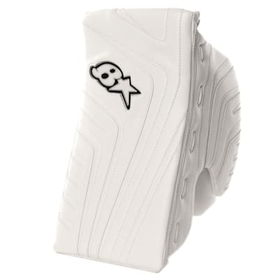 White/White (Brians OPT1K Goalie Blocker - Senior)