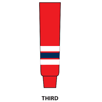 Third (NHL Team Hockey Socks - Washington Capitals - Intermediate)