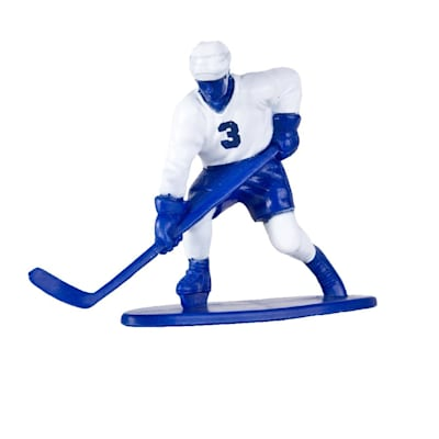 White Team Player (Kaskey Kids Hockey Guys Toy Figurine Set)