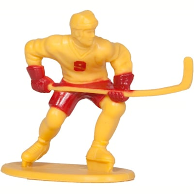 Yellow Skater (Kaskey Kids Hockey Guys Toy Figurine Set)