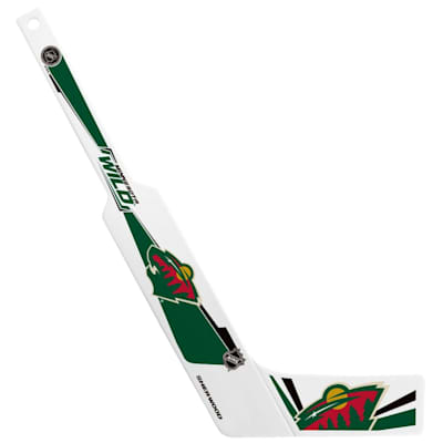(InGlasco Plastic Goalie Mini-Stick - Minnesota Wild)