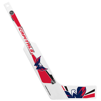 (InGlasco Plastic Goalie Mini-Stick - Washington Capitals)