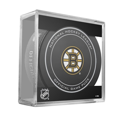 (Sher-Wood NHL Official Game Puck - Boston Bruins)