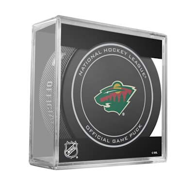 new concept 09823 cc559 Sher-Wood NHL Official Game Puck - Minnesota Wild