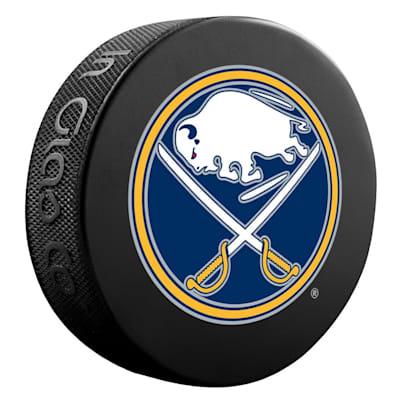 (InGlasco NHL Basic Logo Puck - Buffalo Sabres)