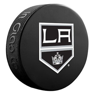 (InGlasco NHL Basic Logo Puck - Los Angeles Kings)