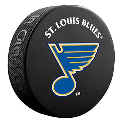 (InGlasco NHL Basic Logo Puck - St. Louis Blues)