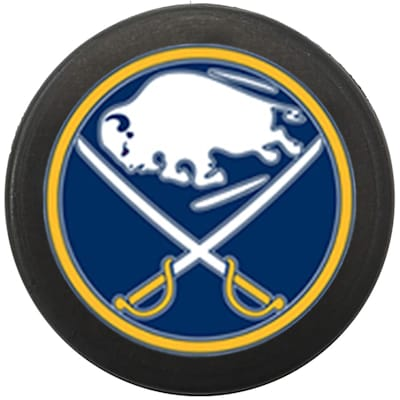 Single Charm (InGlasco NHL Mini Puck Charms - Buffalo Sabres)
