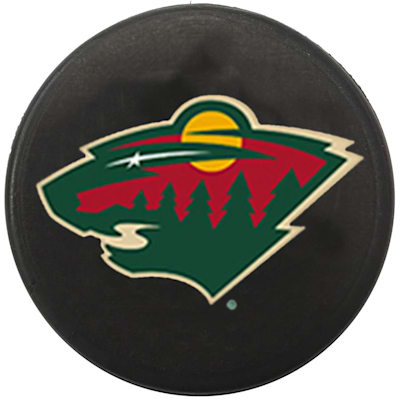 Single Charm (InGlasco NHL Mini Puck Charms - Minnesota Wild)