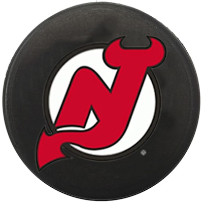 Single Charm (InGlasco NHL Mini Puck Charms - New Jersey Devils)