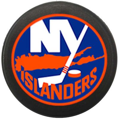 Single Charm (InGlasco NHL Mini Puck Charms - New York Islanders)