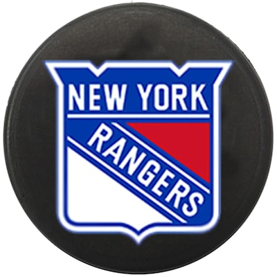 Single Charm (InGlasco NHL Mini Puck Charms - New York Rangers)