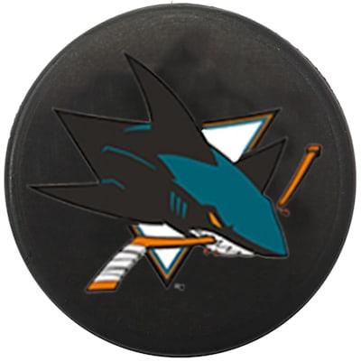 Single Charm (InGlasco NHL Mini Puck Charms - San Jose Sharks)