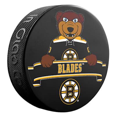 (Sher-Wood NHL Mascot Souvenir Puck - Boston Bruins)