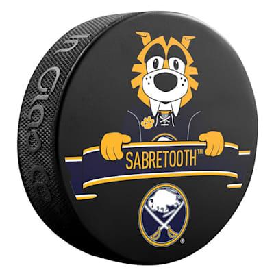 (Sher-Wood NHL Mascot Souvenir Puck - Buffalo Sabres)