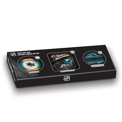 (Sher-Wood NHL Fan Gift Box - San Jose Sharks)