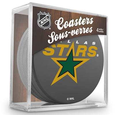 (InGlasco Puck Coasters Pack - Dallas Stars)