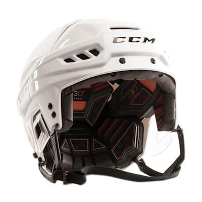 White (CCM FL500 Helmet)