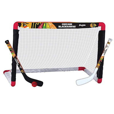 NHL Team Mini Goal Set - CHI (Franklin NHL Team Mini Hockey Goal Set - Chicago Blackhawks)
