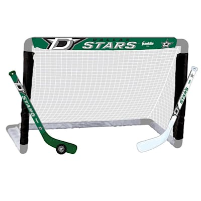 NHL Team Mini Goal Set - DAL (Franklin NHL Team Mini Hockey Goal Set - Dallas Stars)