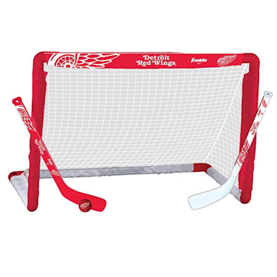 NHL Team Mini Goal Set - DET (Franklin NHL Team Mini Hockey Goal Set - Detroit Red Wings)