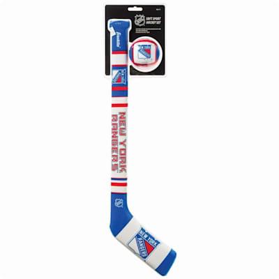 (Franklin NHL Team Soft Sport Mini Hockey Set - New York Rangers)