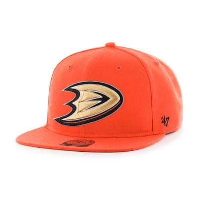 Front (47 Brand Anaheim Ducks Sure Shot Snapback Cap)